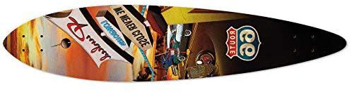 Tabla Yocaher Route 66 Series Longboard Pintail