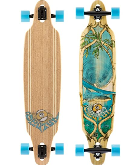 Longboard completo Bamboo Lookout Drop-Thru Sector 9