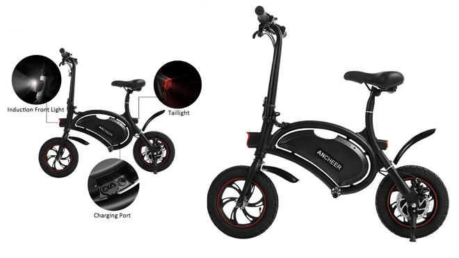 Scooter Eléctrico Plegable 350W ANCHEER